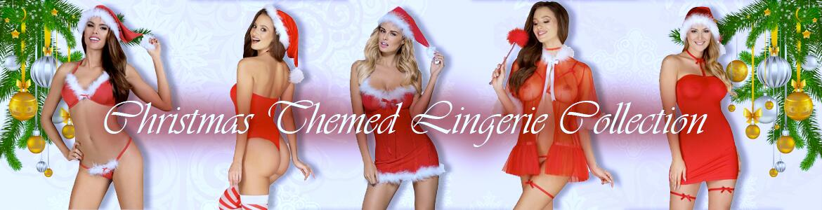 Christmas Themed Lingerie Collection