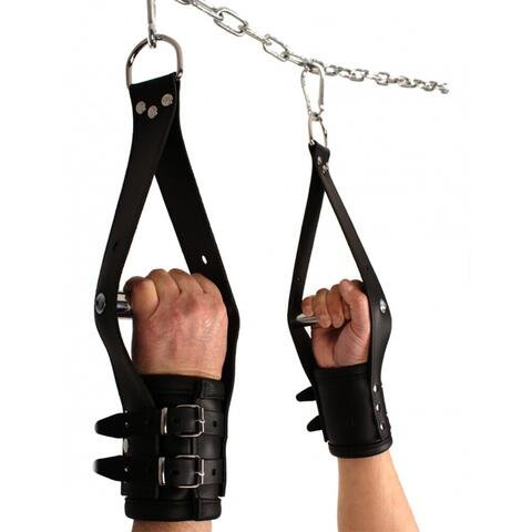 Deluxe Leather Suspension Handcuffs