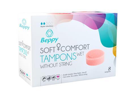 Beppy Soft + Comfort Tampons WET - 8 pcs