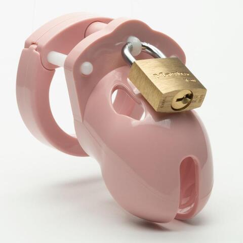CB-X - Mr Stubb Chastity Cage - Pink