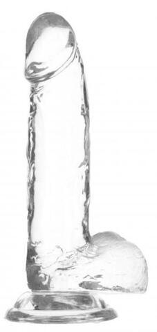 Crystal Addiction - Transparent Dildo - 20 cm