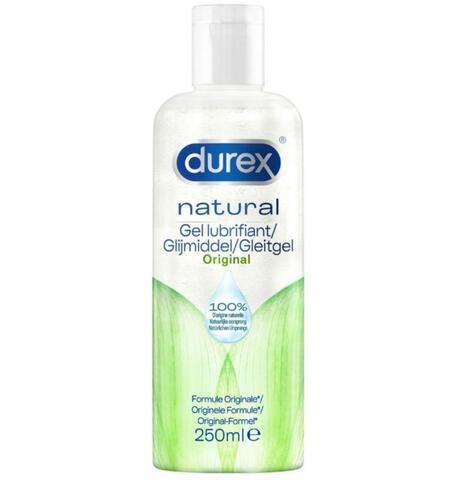 Durex Natural Water-Based Lubricant - 250 ml