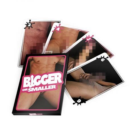 Erotic Game - Bigger or Smaller Game