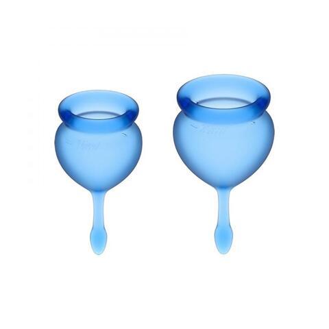 Feel Good Menstrual Cup Set - Blue