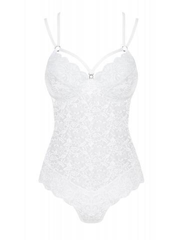 Lace Bodysuit - White