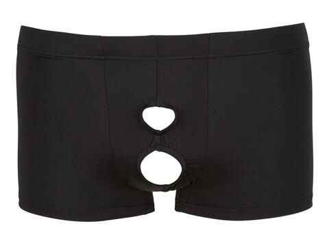 Men's Boxer With Opening - Black