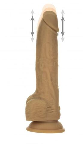 Naked Addiction Realistic Thrusting Dildo with Remote Control - 23 cm