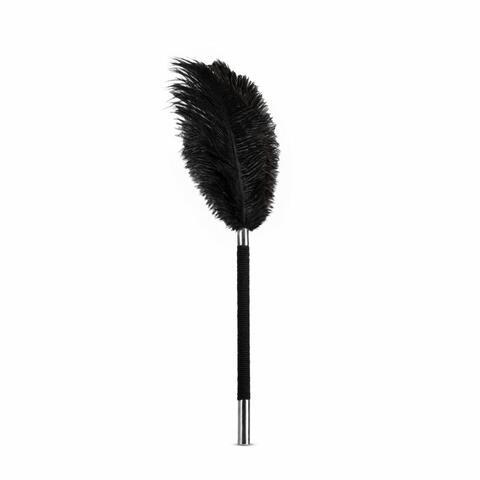 Noir - Soft Feather Tickler - Black