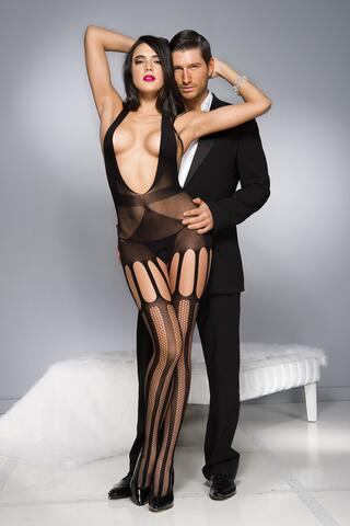Open Catsuit With Cut-Outs