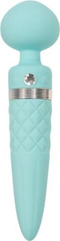 Pillow Talk - Sultry Double Vibrator - Turquoise