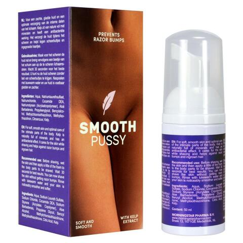 Smooth Pussy - Shaving Cream for Women