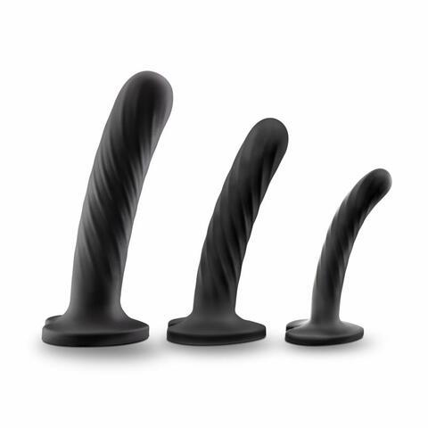 Temptasia - Twist Dildo Kit - Set of Three