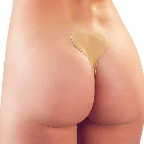 Flesh Coloured Adhesive Invisible G-String