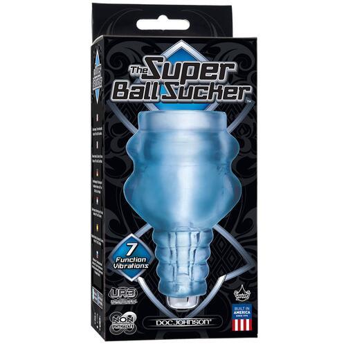 Vibrating Super Ball Sucker
