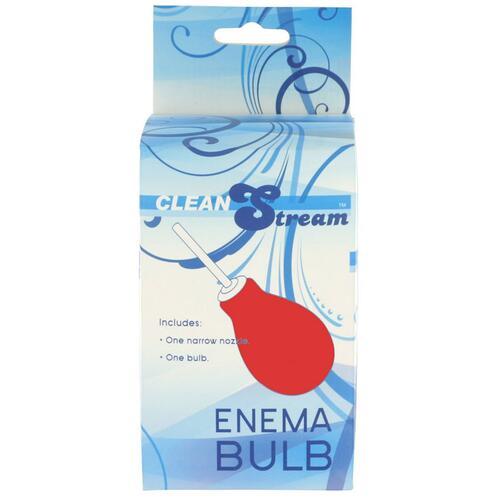 Red Enema Bulb