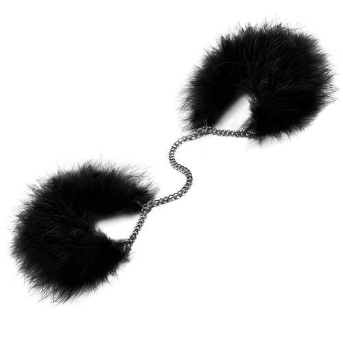 Za Za Zu Maribou Feather Handcuffs