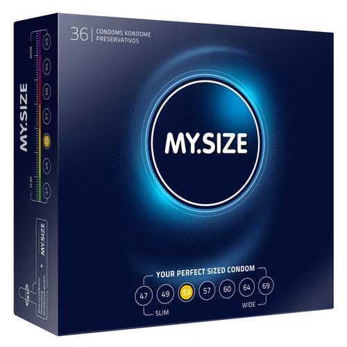 53mm Condom 36 Pack