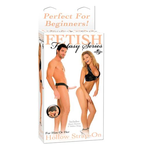 Fetish Fantasy Series Beginners Hollow Strap On