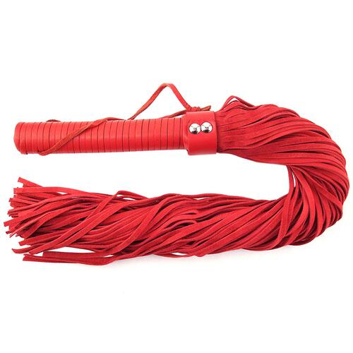 Red Suede Flogger