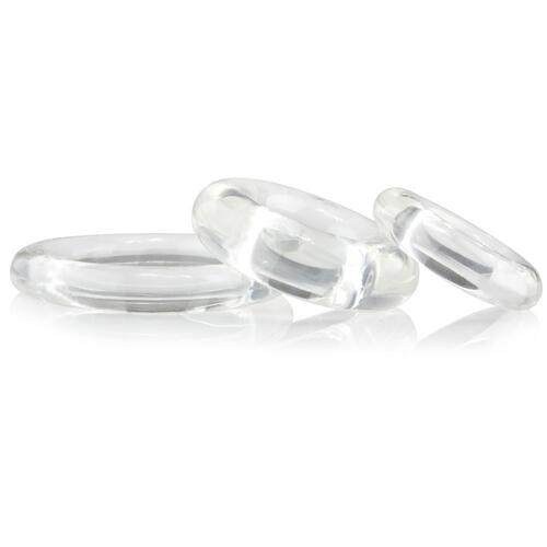 Ring O x 3 Clear Cockrings