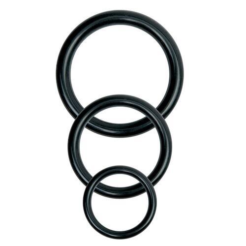 Basix Rubber Works Universal Harness Plus Size Black