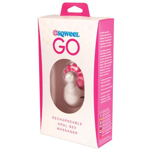 GO Pink Oral Sex Massager