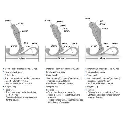 Janus Anti Shock Medium Prostate Massager