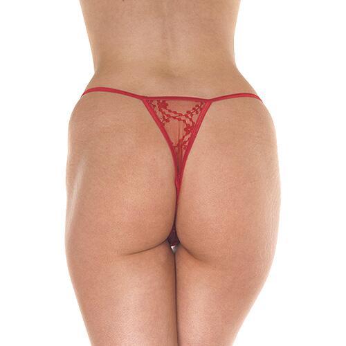 Red Mini Tanga Thong