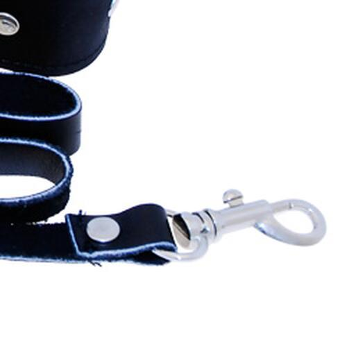 SportSheets Leather Leash And Collar