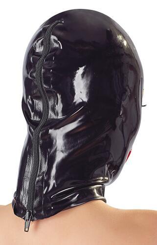 Bondage Mask With Lips