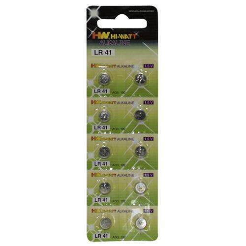 Button Cell 10-pcs LR41