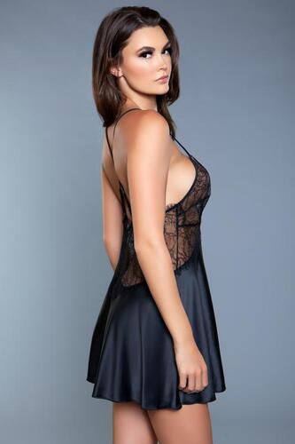 Carina Negligee - Black