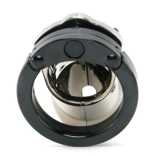 CB-6000 Chastity Cage - Chrome - 35 mm