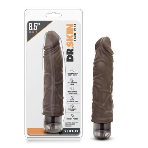 Dr. Skin - Cock Vibe no10 Vibrator - Chocolate