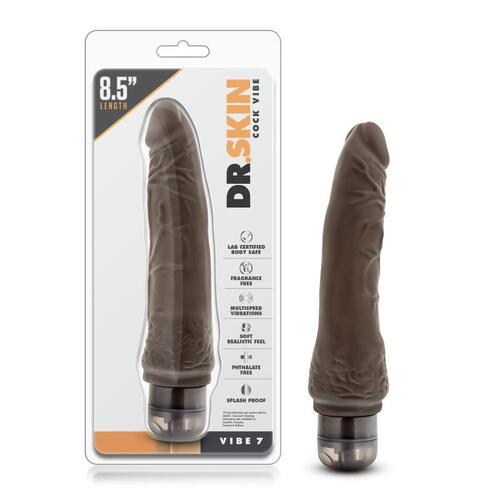 Dr. Skin - Cock Vibe no7 Vibrator - Chocolate