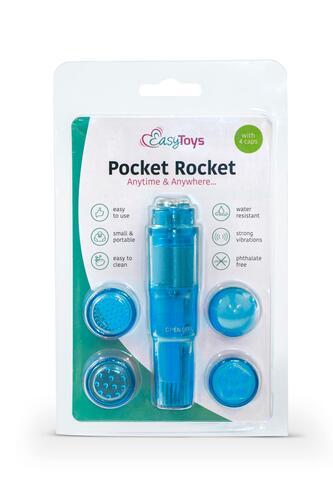 Easytoys Pocket Rocket - Blue