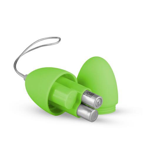 Easytoys Remote Control Vibrating Egg - Green