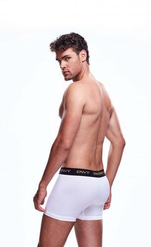 Envy Transparent Men's Shorts - White