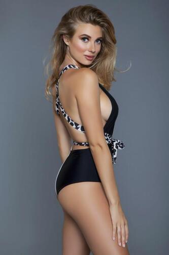 Ezra Swimsuit - Leopard