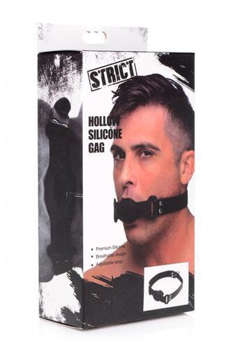 Hollow Silicone Gag