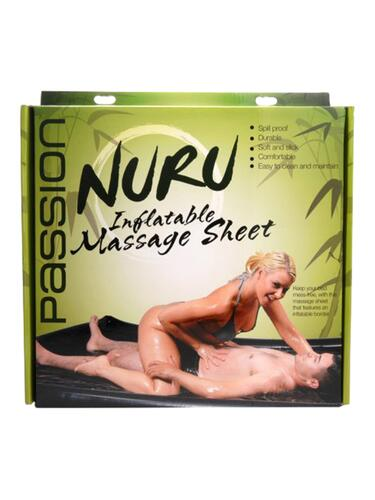 Nuru Inflatable Vinyl Massage Sheet