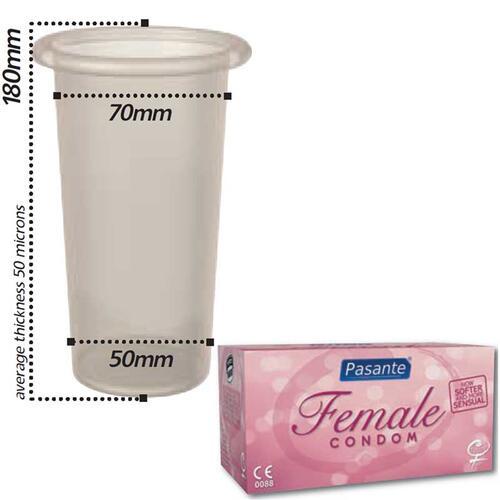 Pasante Female Condoms 30 pcs