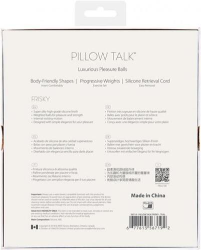 Pillow Talk - Frisky Pleasure Balls - Turquoise