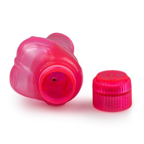 Pink-coloured cumshot vibrator