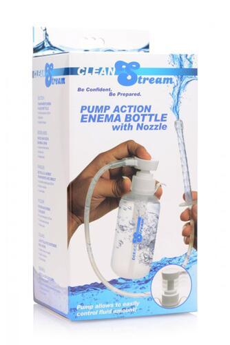 Pump Action Enema Bottle