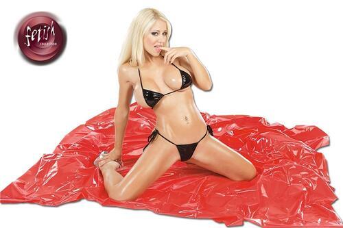 PVC Laken Red