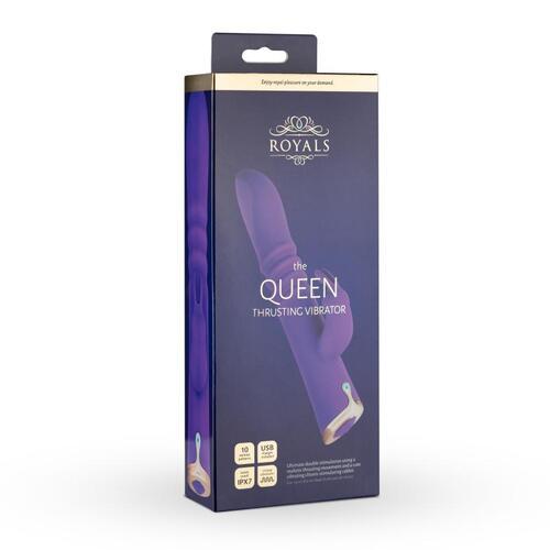 Royals The Queen Thrusting Rabbit Vibrator