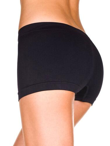Seamless Boy Shorts - Black
