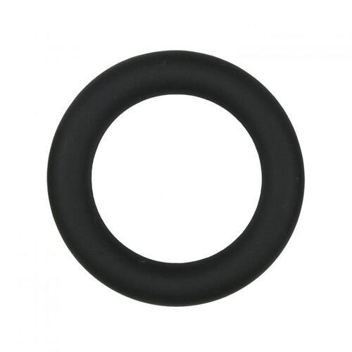 Silicone Cock Ring Black medium