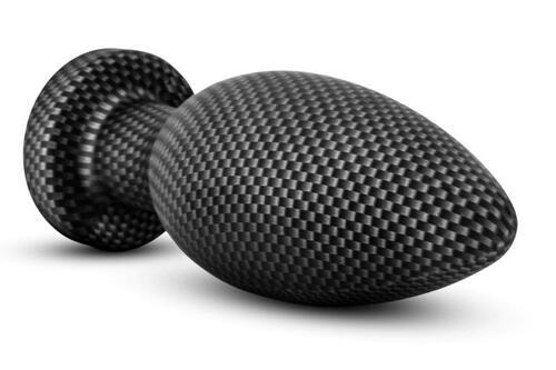 Spark - Silicone Anal Plug Carbon Fiber - Medium